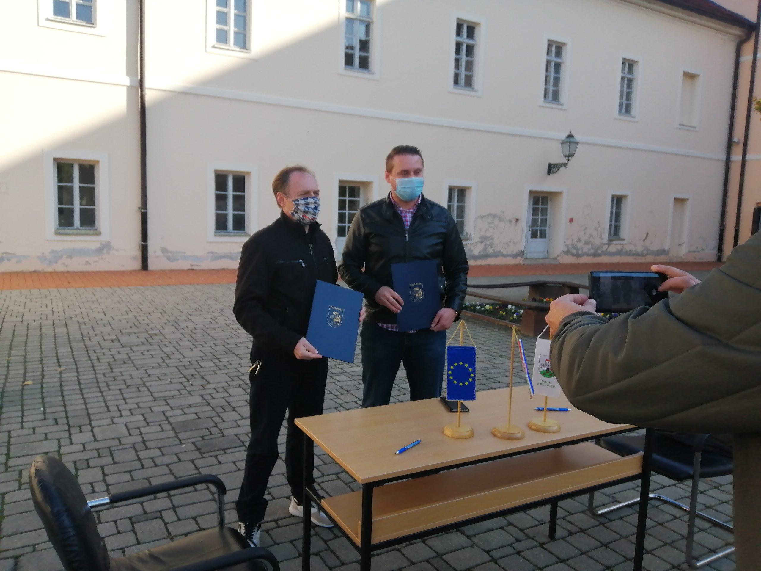 Grad Bjelovar i BCRCD potpisali sporazum u sklopu nadolazećeg EU projekta